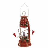 Outside Inside Hurricane Lantern Hummingbird Feeder