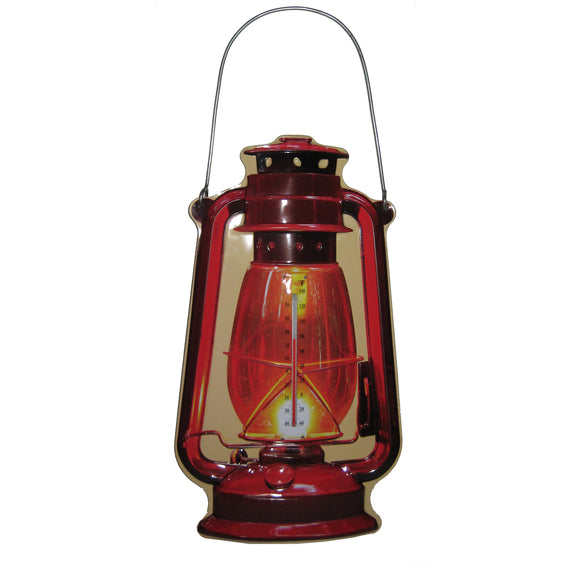 Lantern Shaped Outdoor Thermometer - Outside Inside Gifts and Games