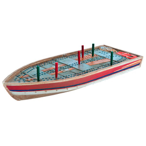 Tin Boat Cribbage Board - Outside Inside Gifts