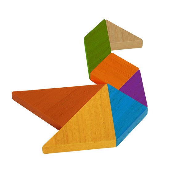 Outside Inside Backpack Tangram Puzzle