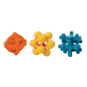 Outside Inside Gifts Brain Twister Puzzle Set