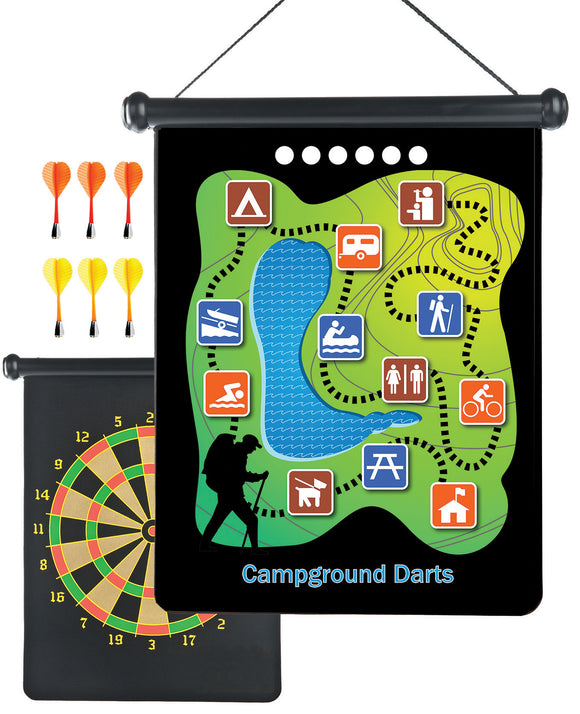 BACKPACK MAGNETIC CAMP DARTS
