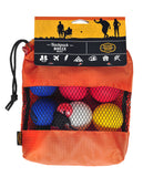Travel size BACKPACK BOCCE game