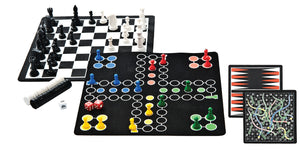 BACKPACK 5 IN 1 MAGNETIC GAME SET