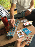 BACKPACK CRIBBAGE BOARD