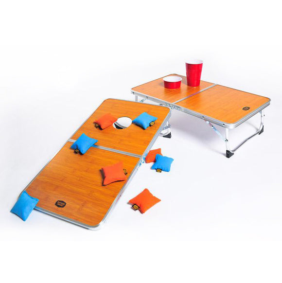 Outside Inside Travel Cornhole Table Set