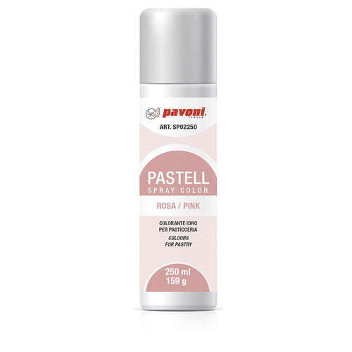Colorante en spray pastel Rosa 150ml Pavoni -SP02- RicaItalia México