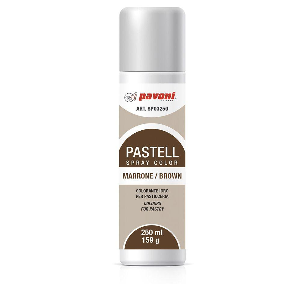 Colorante en spray pastel Marron 150ml Pavoni -SP03- RicaItalia México