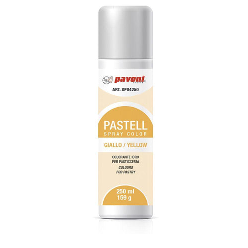 Colorante en spray pastel Amarillo 150ml Pavoni -SP04- RicaItalia México