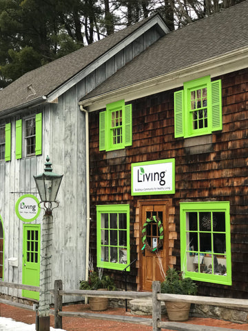 O2 Living headquarters, holistic spa and yoga studio home of organic Living health and wellness hemp extract and progesterone products