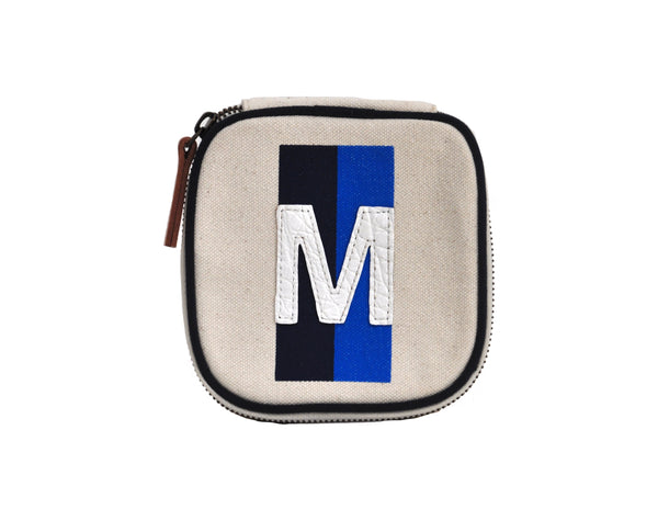 PT TRAVEL ZIPPER BOX - BLUE/BLUE - WHITE ALLIGATOR M