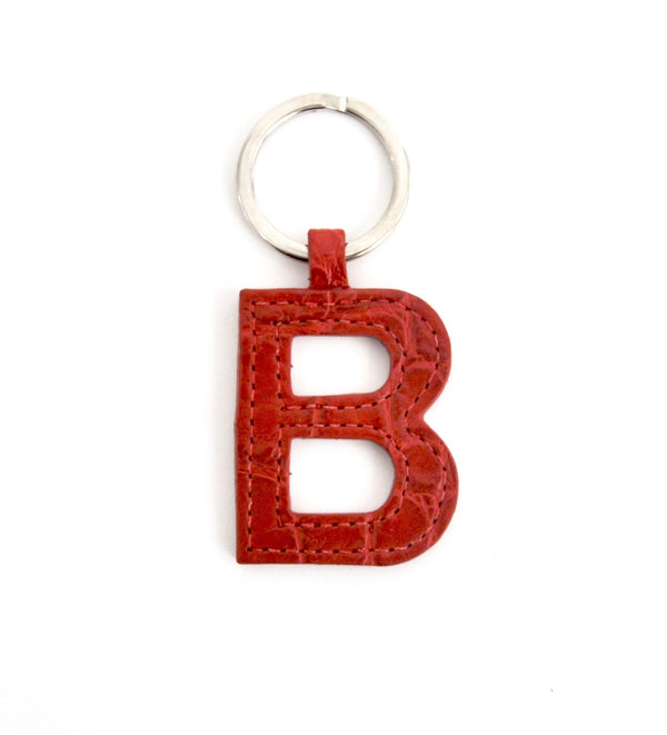 MINI LETTER KEYCHAIN, SINGLE SIDED - MADE TO ORDER