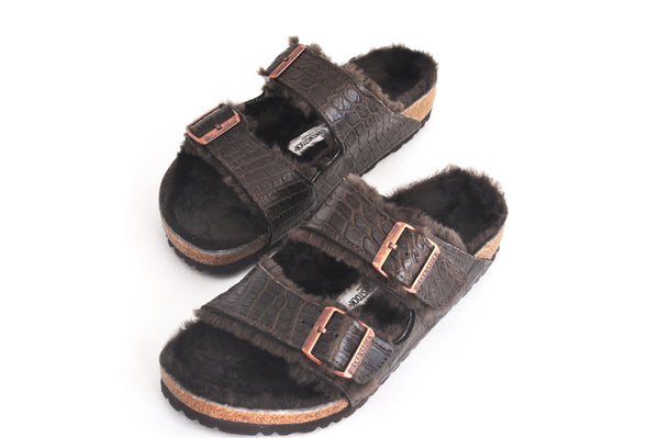 ARIZONA BIRKENSTOCKS SHEARLING - CONTRACT TANNING
