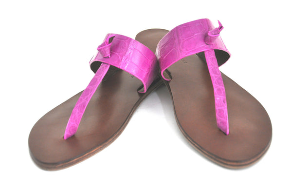 KNOTTED SANDAL - CONTRACT TANNING