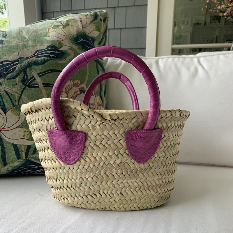 MINI FRENCH MARKET TOTE - MADE TO ORDER