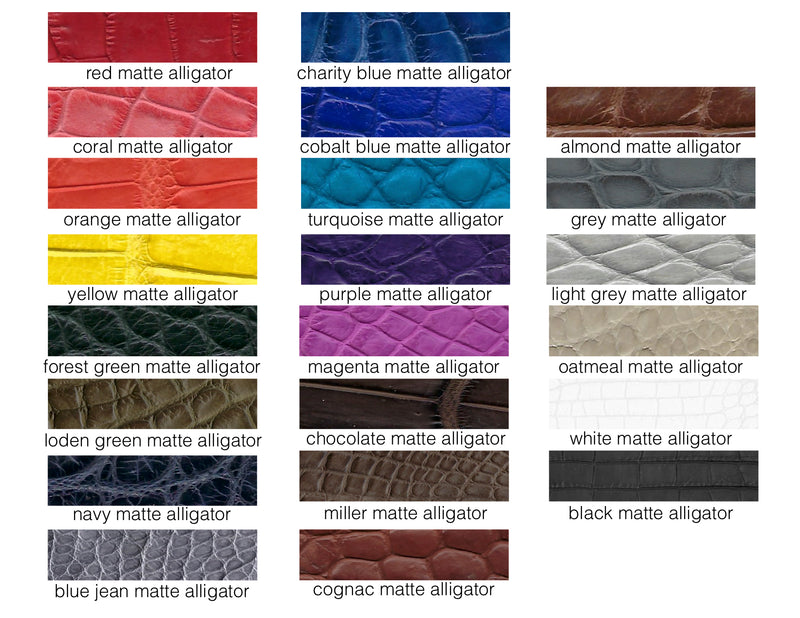 "HEADBANDS .5"" WIDE IN ALLIGATOR - ASSORTED COLORS"