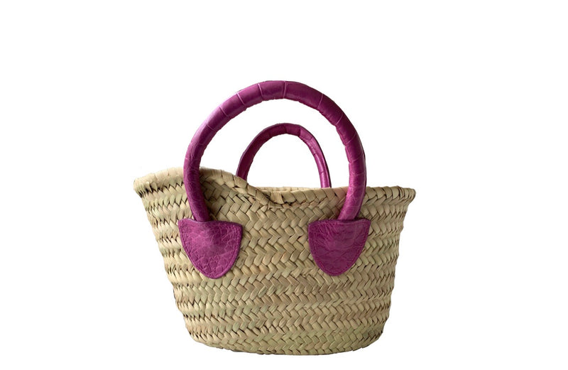 MINI FRENCH MARKET TOTE - ASSORTED COLORS
