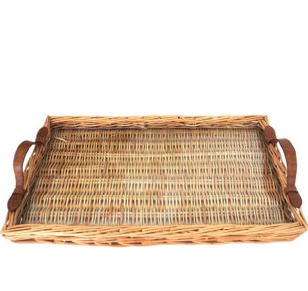 ISLAND TRAY WITH ALLIGATOR HANDLES - LARGE