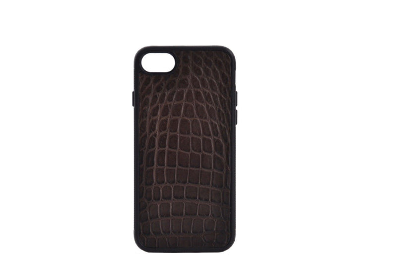 INLAY IPHONE 7 & 8 CASES IN ALLIGATOR - ASSORTED COLORS