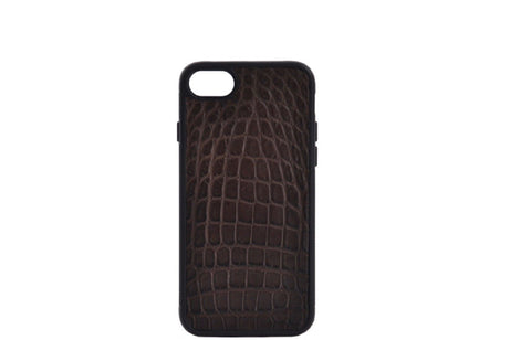 INLAY IPHONE 7 & 8 CASES IN ALLIGATOR