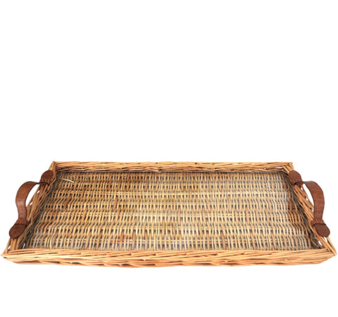 ISLAND TRAY WITH ALLIGATOR HANDLES - MEDIUM