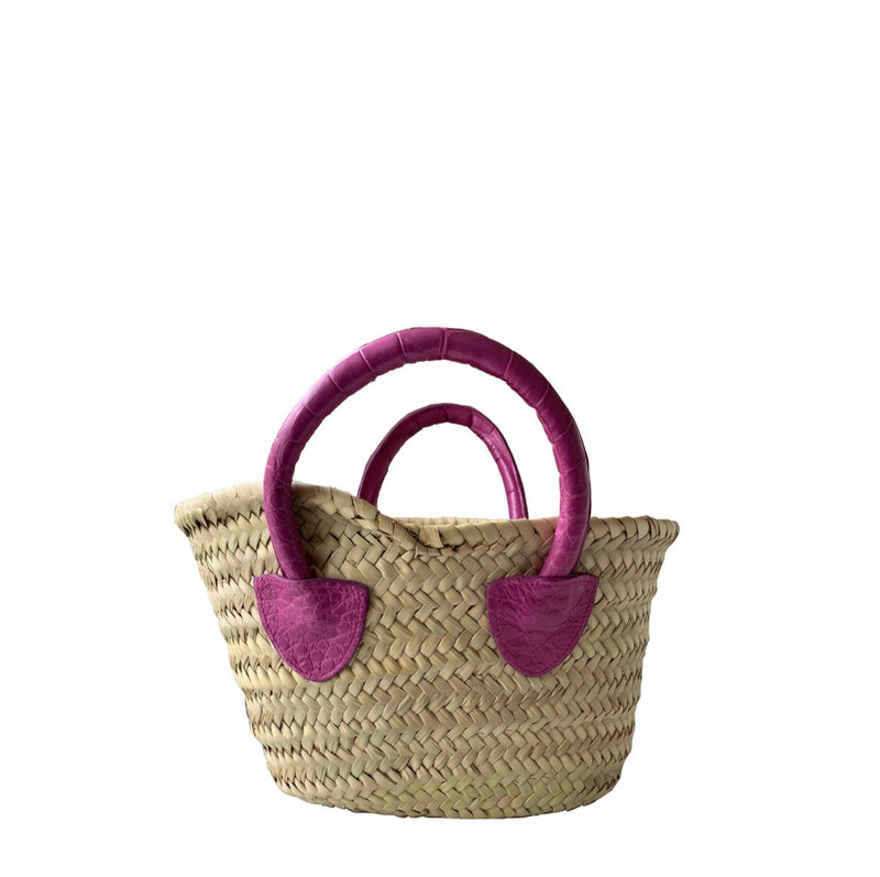 MINI FRENCH MARKET TOTE - CONTRACT TANNING