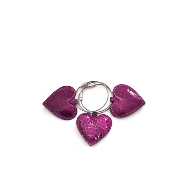 HEART KEYCHAINS - CONTRACT TANNING