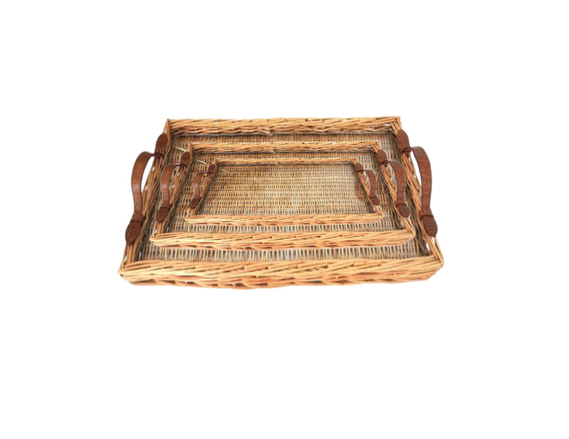 MEDIUM ISLAND TRAY WITH ALLIGATOR HANDLES - ASSORTED COLORS