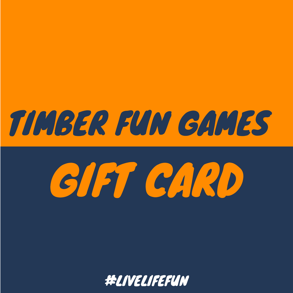 Timber Fun Games Gift Card