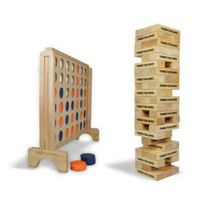 Favourites Package - Giant Tumble Tower & Giant 4 in a Row