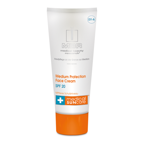 Medium Protection Face Cream SPF 20 - MBR