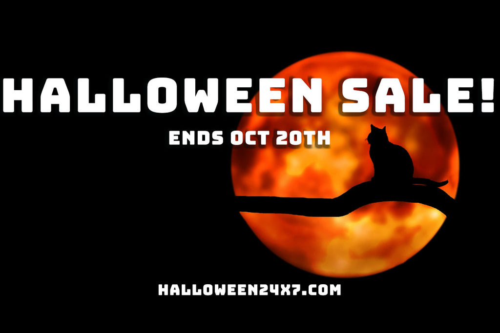 Super Spooky Halloween Sale!