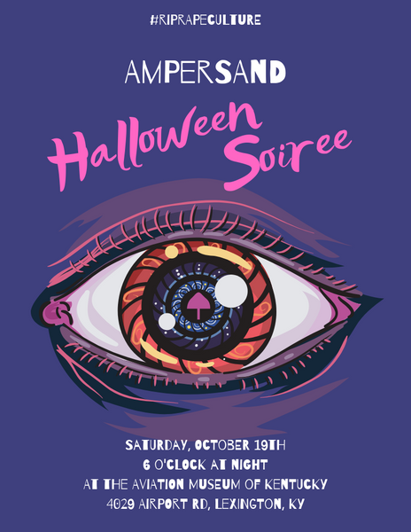 Ampersand Halloween Soiree Poster