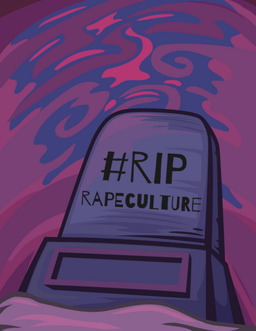 RIP Rape Culture Tombstone