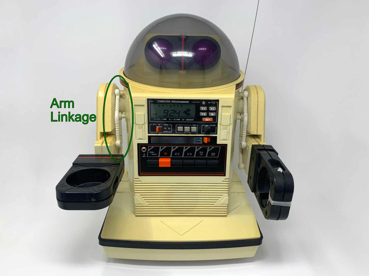 Omnibot 5402 Showing Arm Linkage