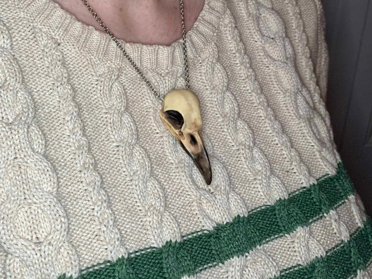 Crow Skull Necklace