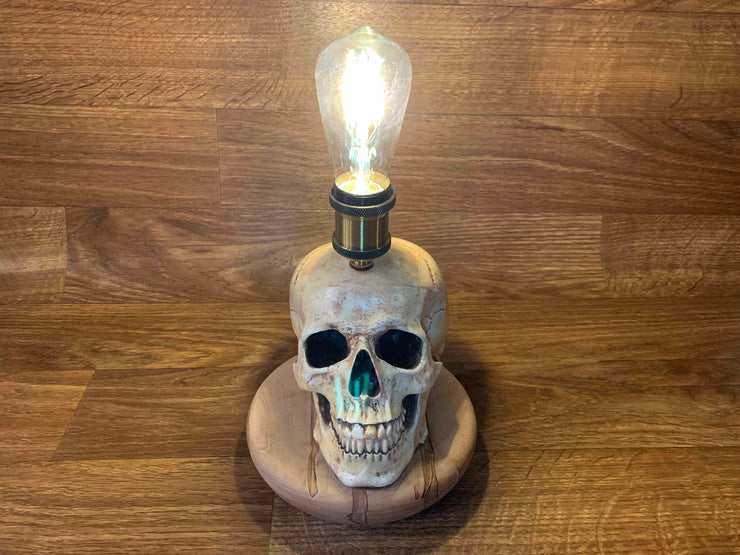 Skull Lamp Horror Decor