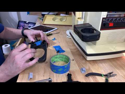 Replacing TOMY Omnibot gripper rubber
