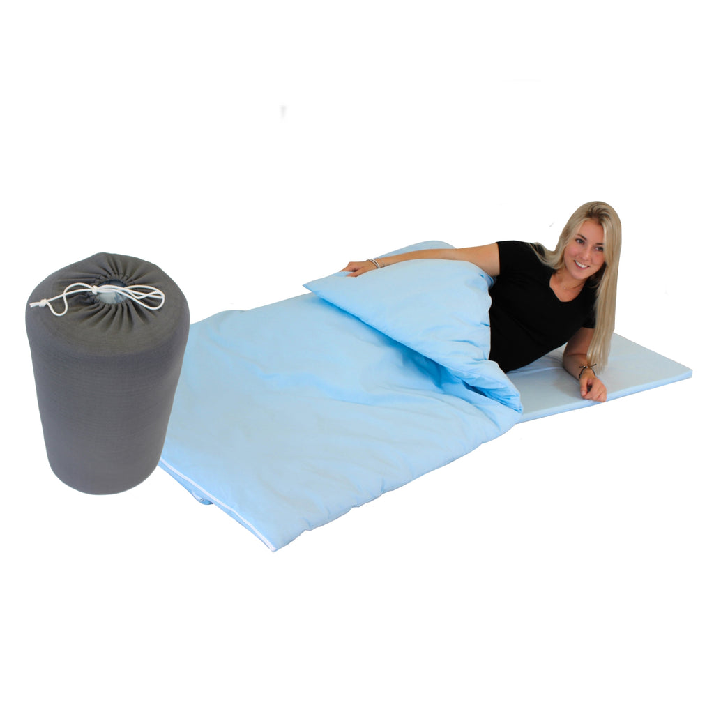 The DREAME Memory Foam Travel Sleeping Bag