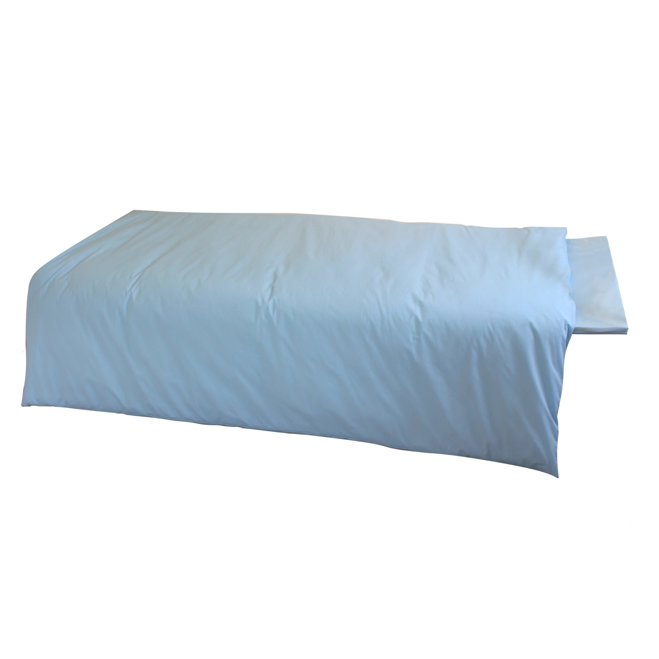Side view of the DREAME Memory Foam Travel Sleeping Bag