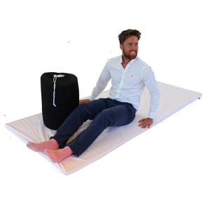DREAME Travel Memory Foam Mattress Topper with Storage Bag