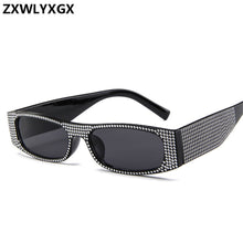 Load image into Gallery viewer, Small square  fashion sunglasses