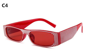 Small square  fashion sunglasses