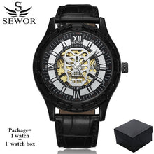 Load image into Gallery viewer, Luxury Man Skull Skeleton Wristwatche