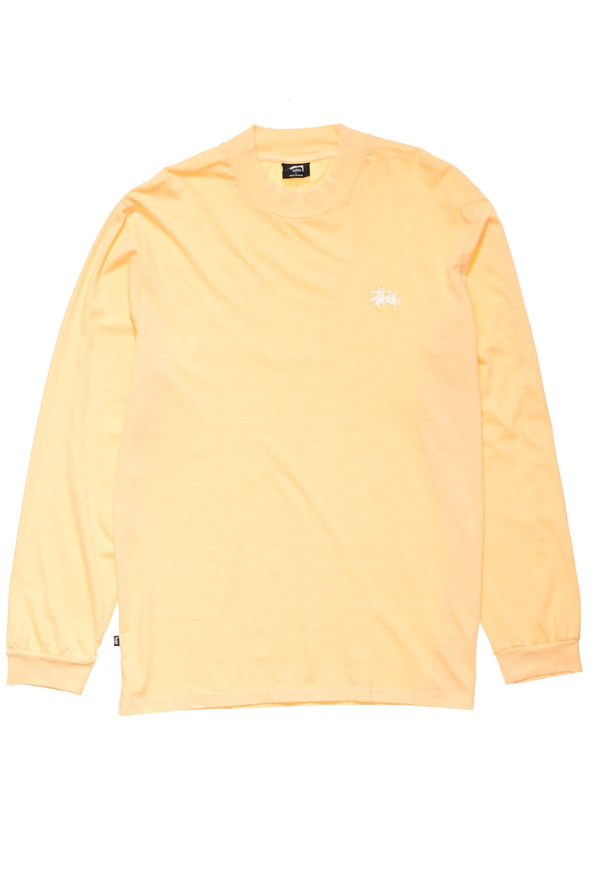 Mock Neck LS Tee