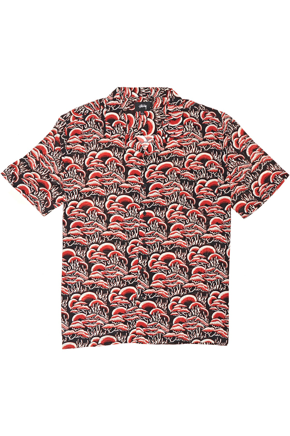 Coral Pattern SS Shirt