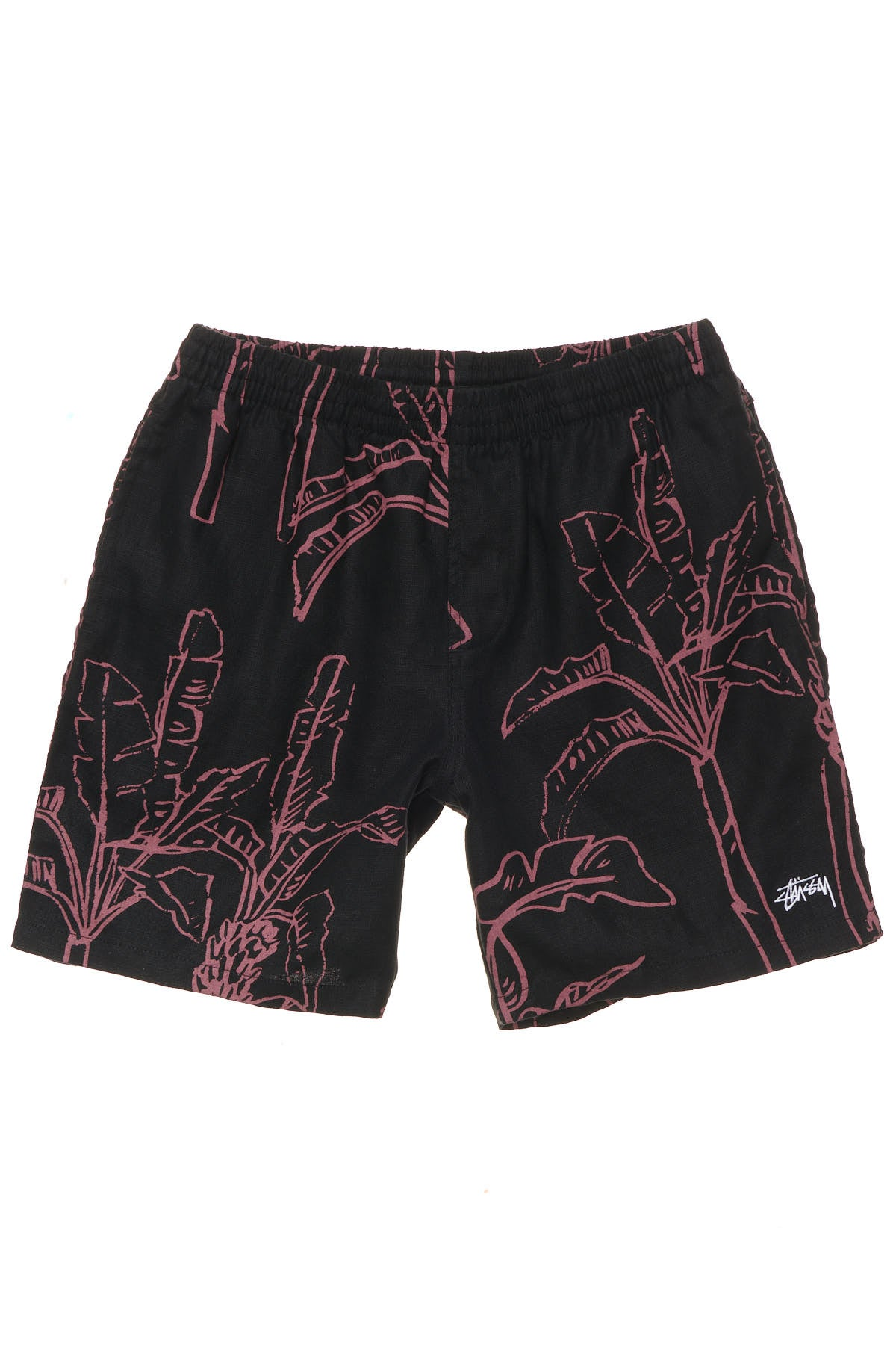 Banana Tree Linen Beachshort