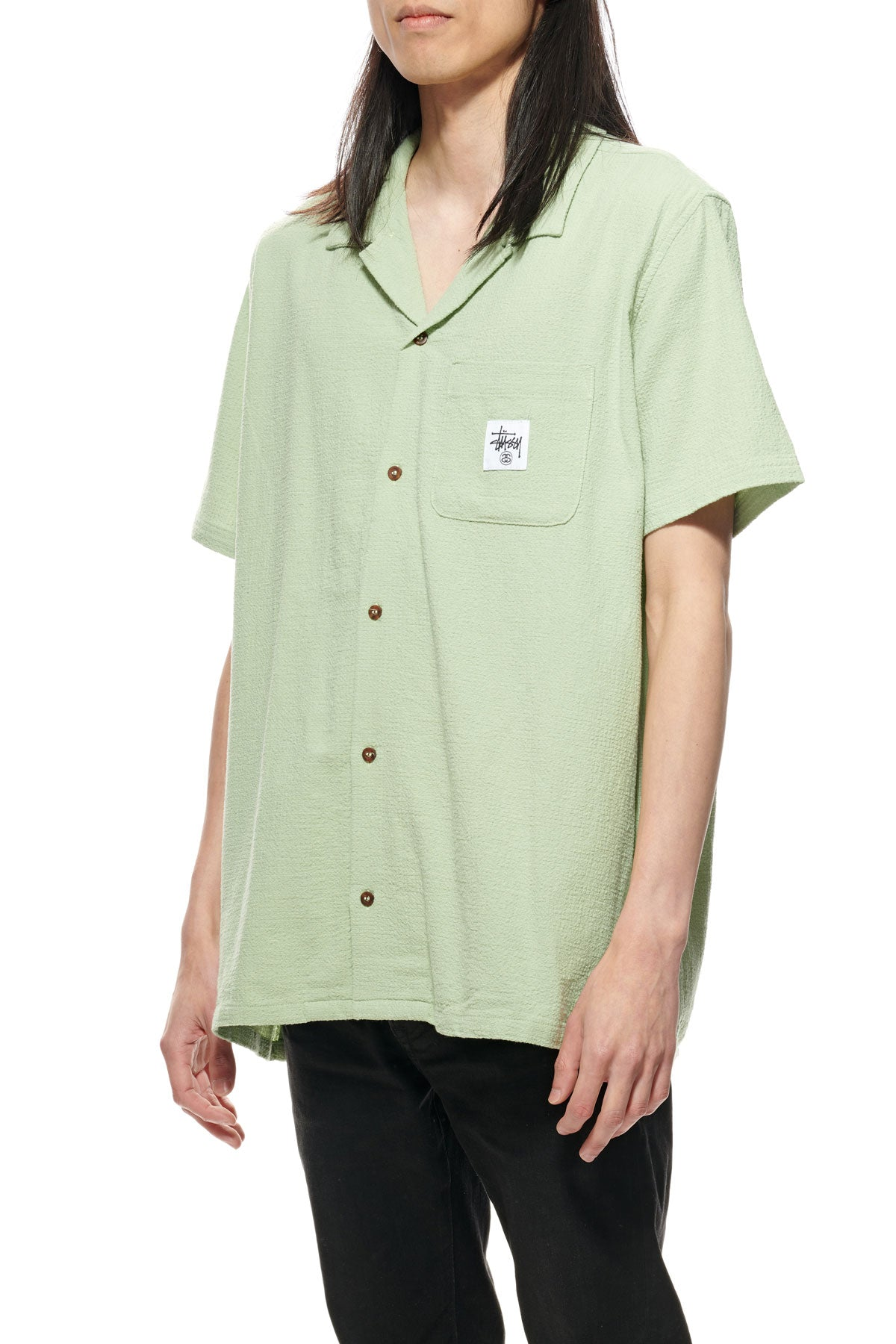 Grid Seersucker SS Shirt