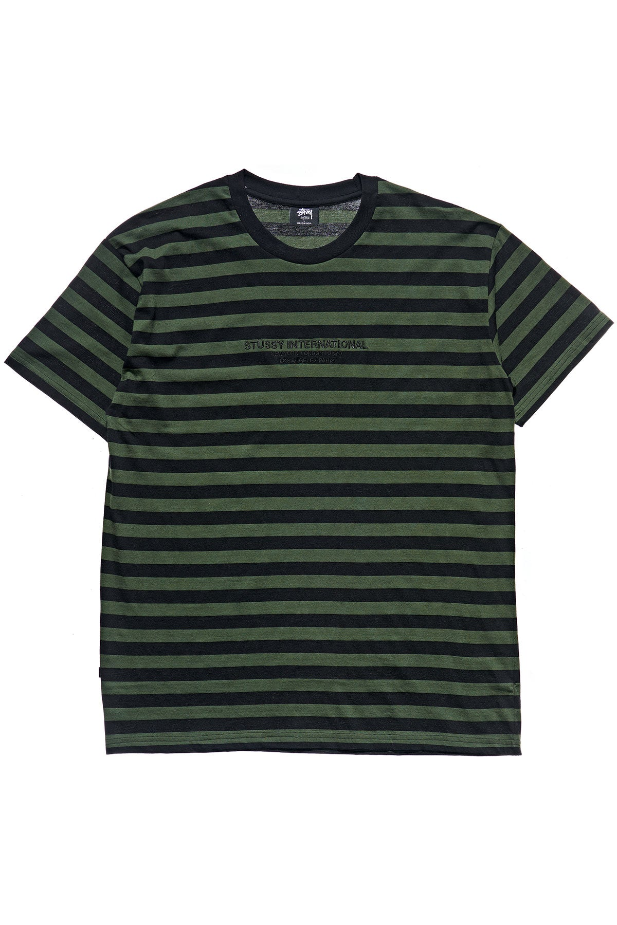 International Stripe SS Tee