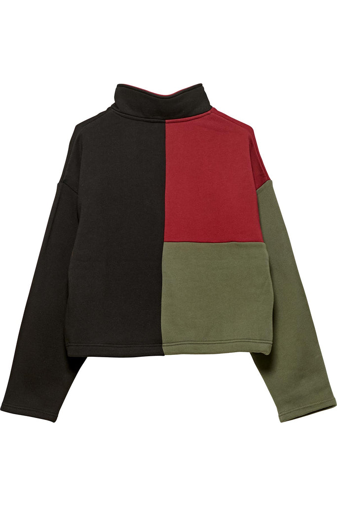 Colour Block Quarter Zip Fleece - R8gzwear